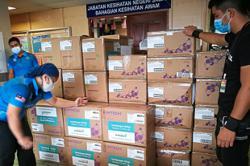 Aid for Sabah hospitals and clinics