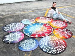 Giving the kolam a new twist