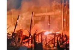 Teachers' quarters in remote Sarawak school razed