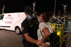 After frantic search, Moroccan woman finds brother stranded on Canary Islands