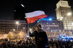 'Blood on your hands': Polish ruling party boss slams opposition amid protests