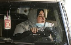 Meet Gaza's first woman taxi driver