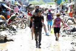 Philippine president places Luzon under state of calamity following typhoon disaster