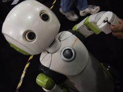 Robot reminds Japan shoppers to wear masks