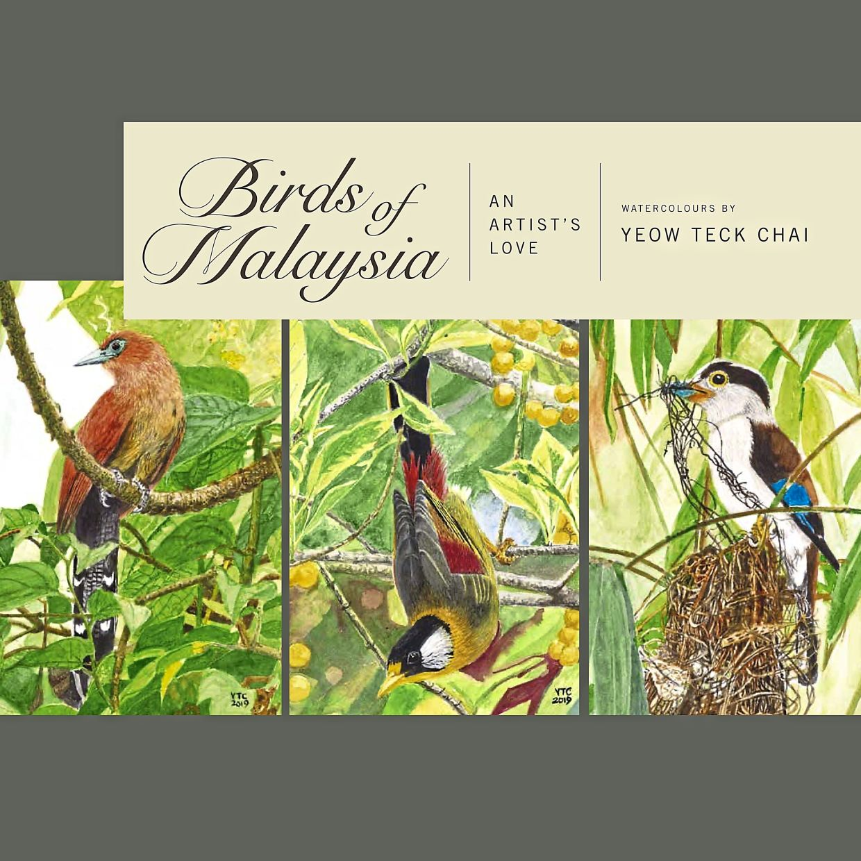 'Birds Of Malaysia: An Artist's Love' features some 130 prints of Yeow Teck Chai's artworks.