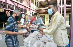 NGO treats homeless to Deepavali breakfast for fifth year