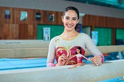 Farah glad to be 'Barbie' who inspires girls to achieve their dreams