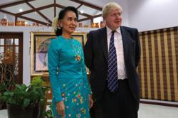 UK PM raises Rohingya concerns in call with Myanmar leader