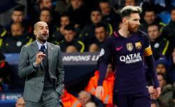 Manchester City boss Guardiola hopes Messi ends career at Barcelona