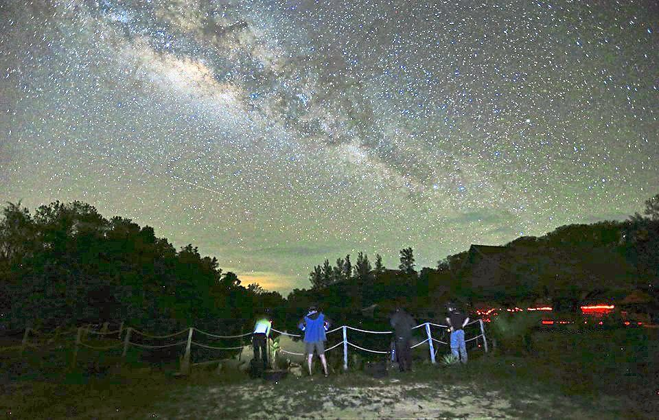 Light pollution-free Kudat, Sabah, allows star-gazers to see the Milky Way with the naked eye. — EDDIE CHUA/The Star