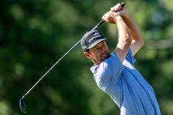 Streb grabs second round lead at RSM Classic