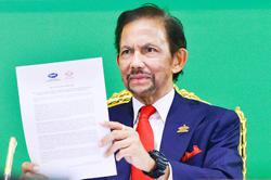 Sultan: Brunei set to join regional revitalisation agenda: Sultan