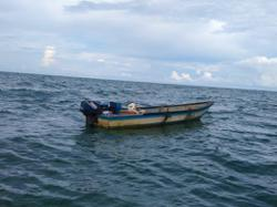Fisherman rescued after afloat at sea for seven hours