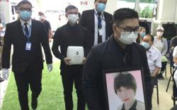 Irene Chung in final resting place, three weeks after her death