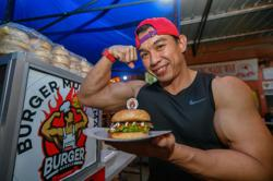 Muscling into the food business: Bodybuilder finds success with healthy salmon burgers