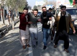 Rockets hit Afghan capital Kabul, at least eight killed