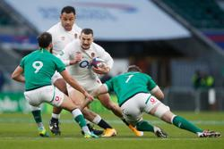 Spectacular May try helps England see off Ireland