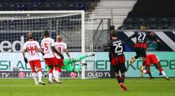 Leipzig draw 1-1 at Frankfurt and miss chance to go top