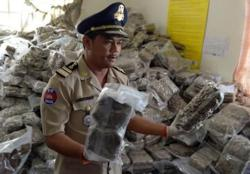 Cambodia arrests man with over 48kg of illicit drugs