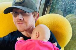 Harry Potter star Rupert Grint sets record on Instagram with photo of daughter