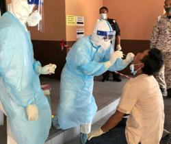 Covid-19: Health teams have tested 172,703 people in S'wak to date