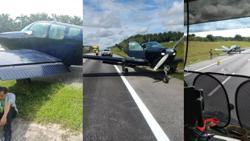 Light aircraft makes emergency landing on North-South Expressway near Kulai (Updated)