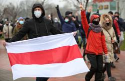 More than 200 detained in Belarus protests - rights group