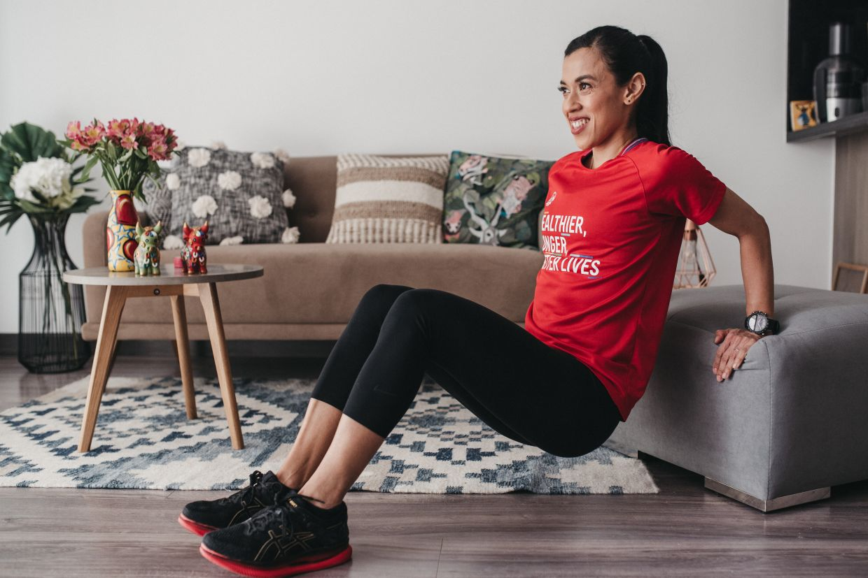 Despite her retirement from professional squash, Nicol still follows a daily fitness regimen.