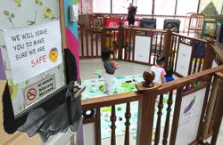 Registered childcare centres can stay open