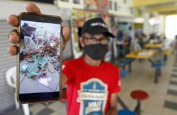 Food court turned drug haunt