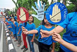 'Violence against children rampant'
