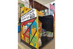 Generosity fills food boxes