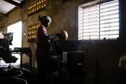 Sole female candidate for Burkina Faso presidency says education key to progress