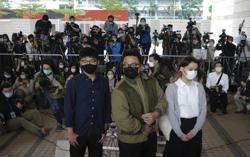 Wong, Chow and Lam: Three young Hong Kong activists facing jail (update)
