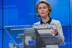 Johnson and EU's von der Leyen may speak this week, Times Radio reports