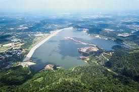 The Mengkuang Dam from which Penang state draws its water supply from.