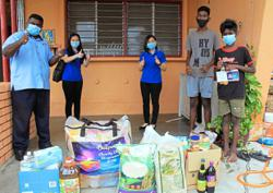 Developer makes Deepavali brighter for three families