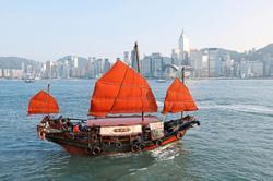 Local tourism keeps HK junk boat tours afloat