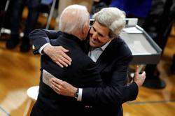 Biden to name Kerry as U.S. climate czar, emphasizing diplomacy's role in the fight