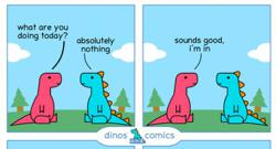 Lifting spirits: why everyone needs a dino comic