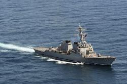 Russia chases off U.S. warship in row over waters in Sea of Japan