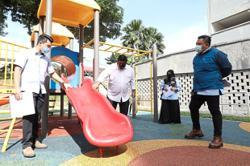 Playground gets upgrade