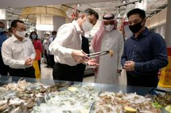 Singapore imports frozen shrimp from Saudi Arabia in a first
