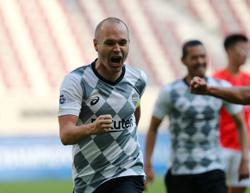 Iniesta on target as Vissel Kobe advance in Asian Champions League
