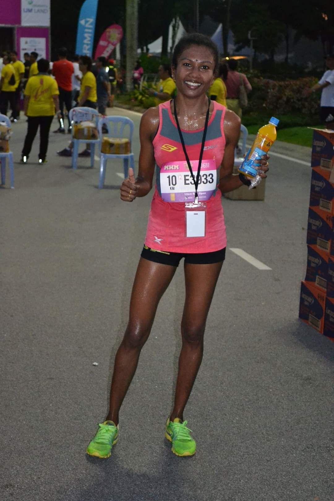 Sheela wants to run for as long as she can. Photo: SHEELA SAMIVELLU