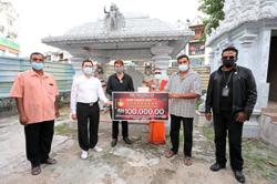 Temple gets to expand structure thanks to RM500,000 donation