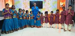 Cheerful Deepavali for children at care centre