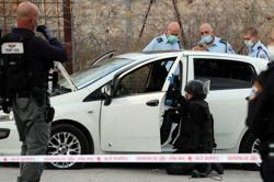 Palestinian shot, killed after ramming car into Israeli forces, police say