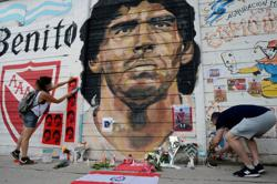 'An immense sadness': Argentina mourns death of Maradona