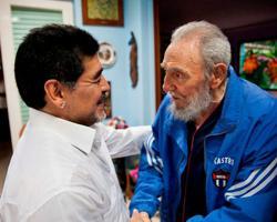 Maradona, football legend, was a champion of Latin America's left